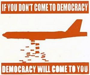 Почему США пытается внедрить свою демократию