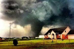 Торнадо в Оклахоме, торнадо в США, мощнейший торнадо в истории